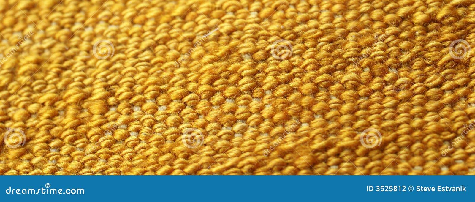 Detail fnurror som vävas stramt