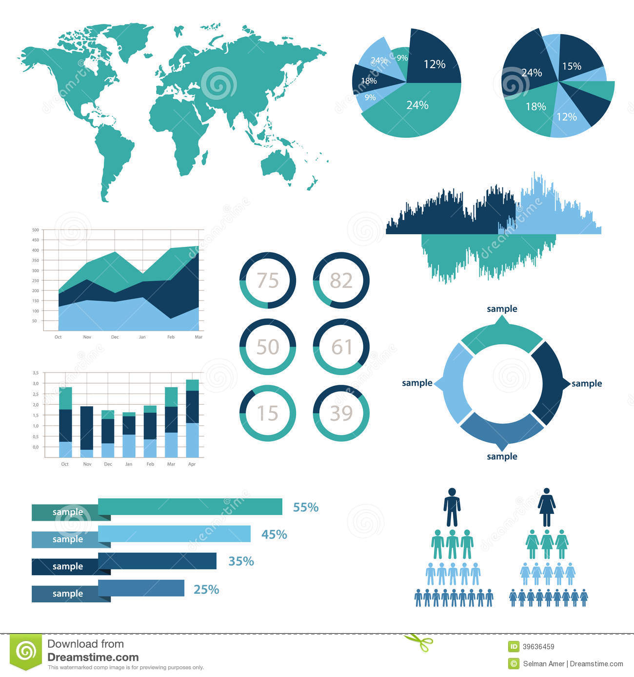 Detail infographic vector illustration world map and information detail infographic vector illustration world map and information graphics collection statistic gumiabroncs Choice Image
