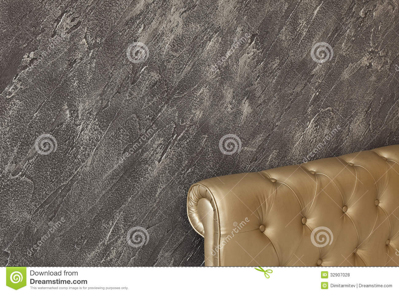 Decorative Interior Plastering : Detail of interior royalty free stock photos image