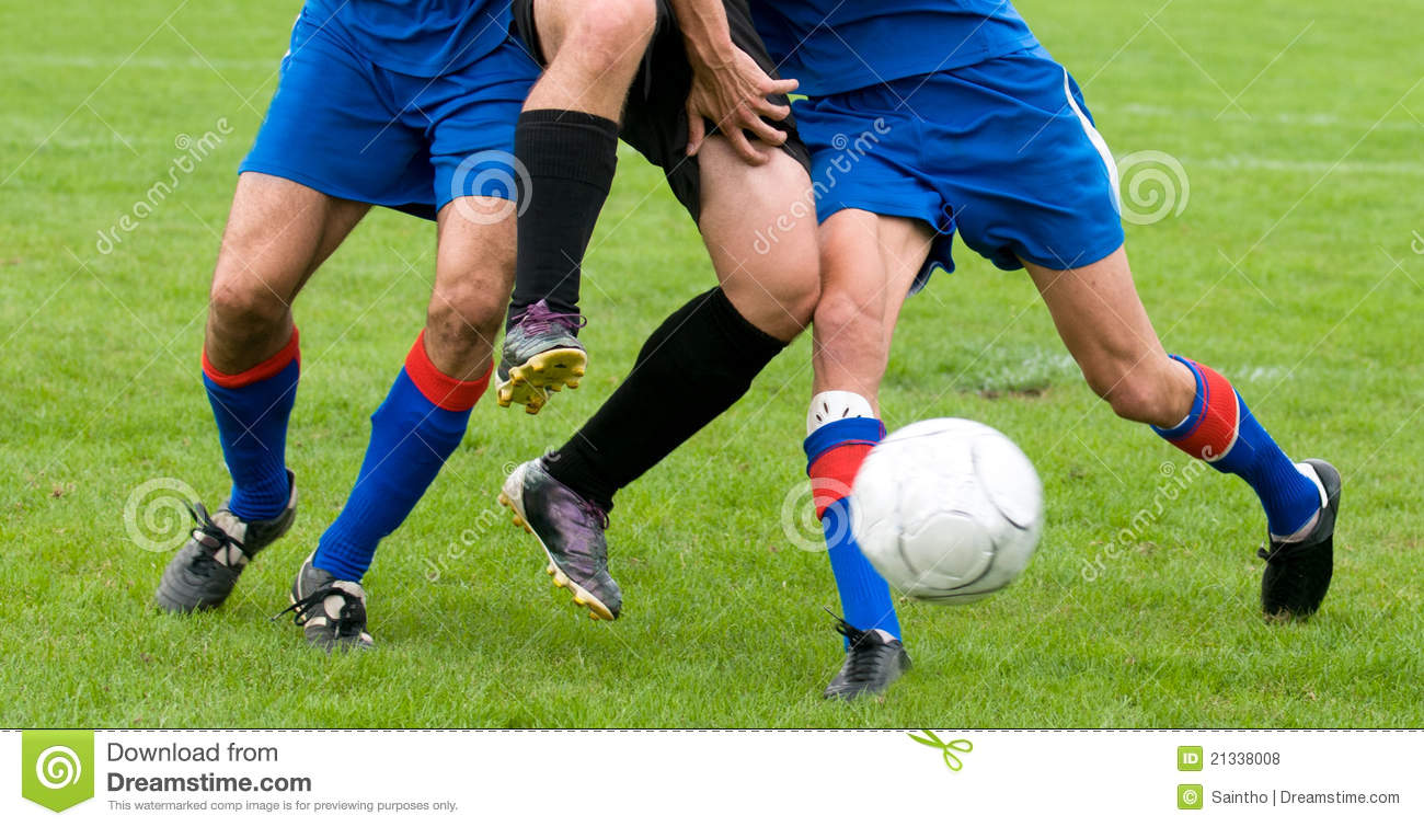 Detail Legs At Football Stock Photo Image Of Sport Football 21338008