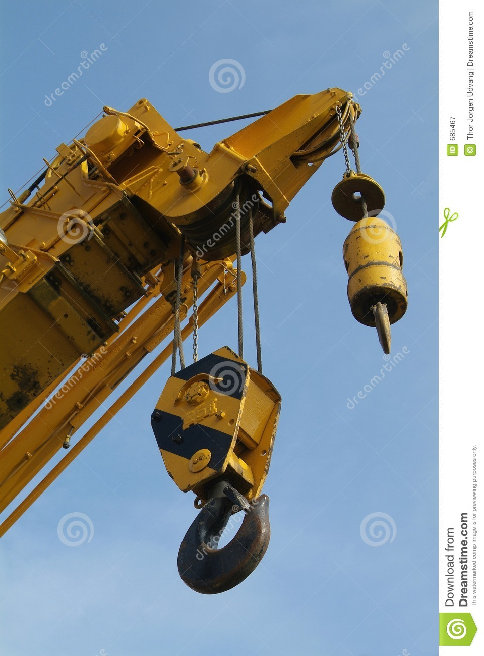 detail of mobile crane with two hooks royalty free stock construction equipment clipart free Construction Equipment Outline