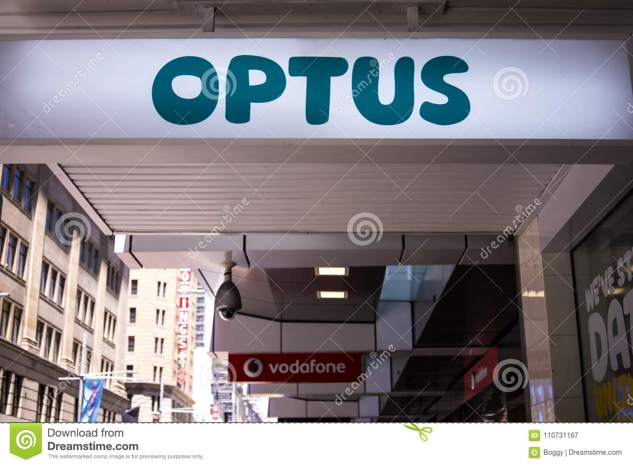 Optus store editorial photography  Image of second, office - 110731167
