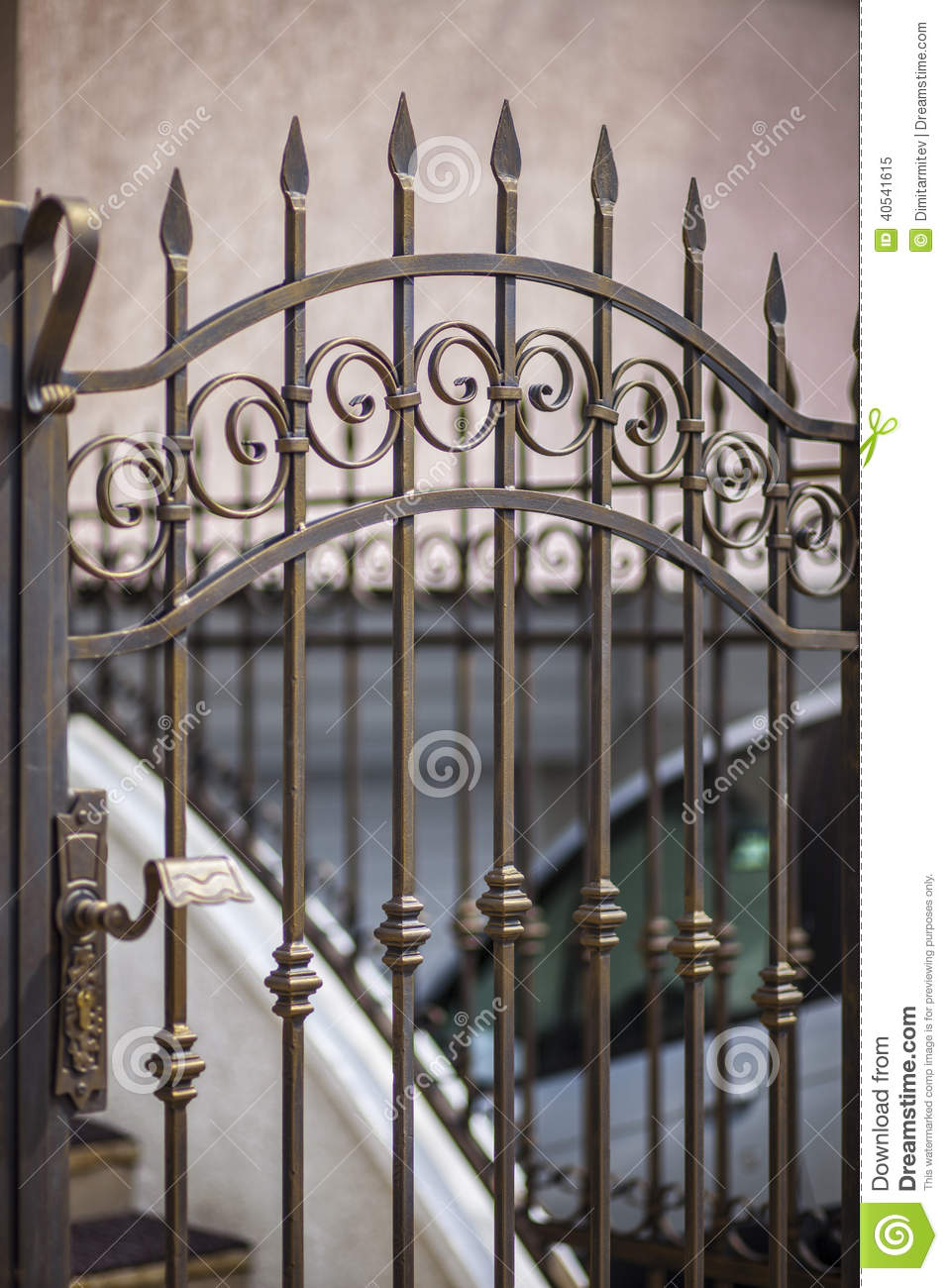 Detail Of Patio Doors Made Stock Photo Image 40541615