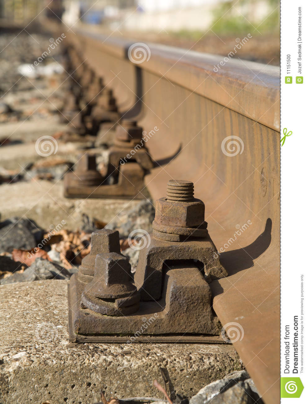 Detail of the rails