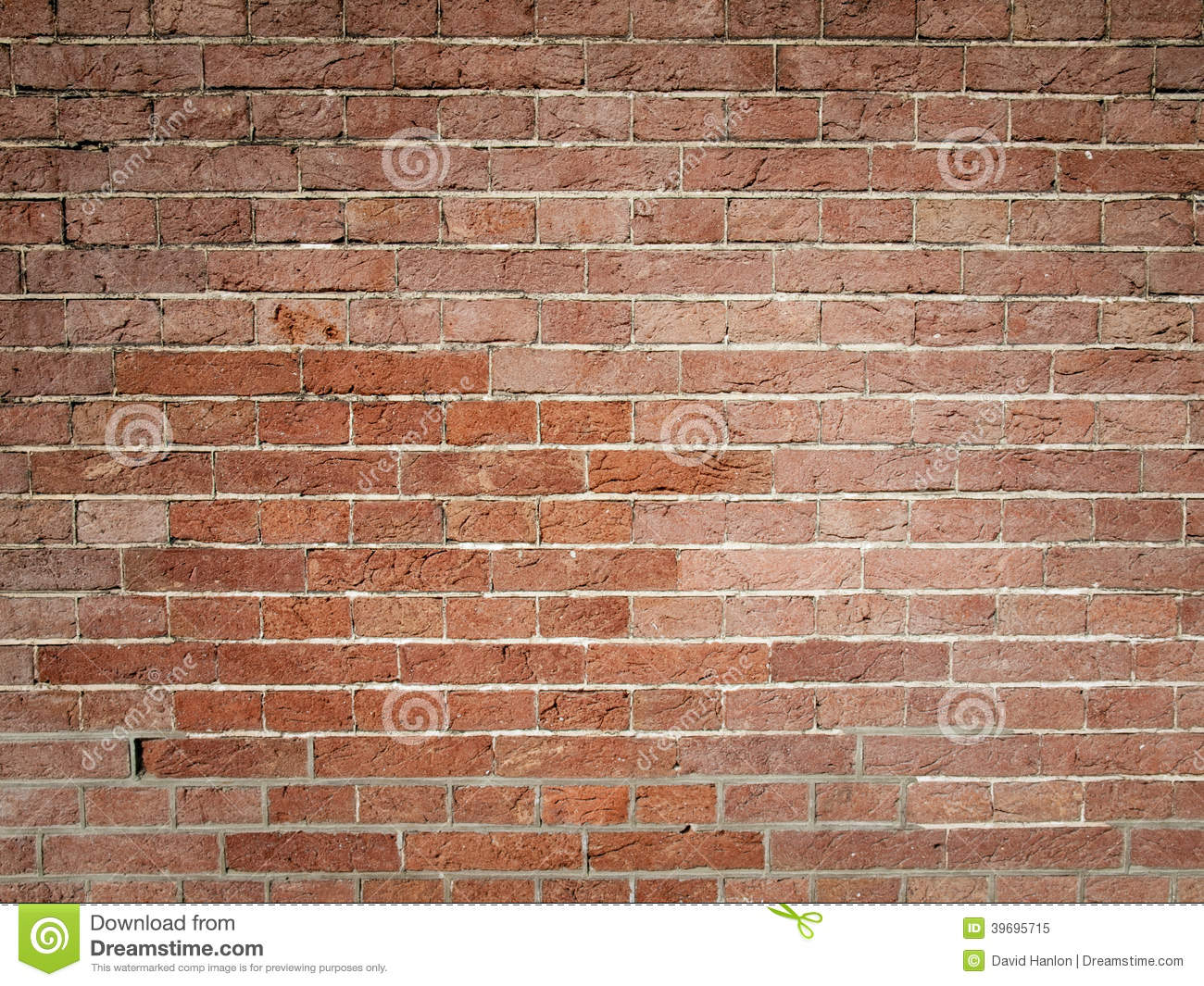 Detail Of Red Brick Wall Stock Photo Image 39695715