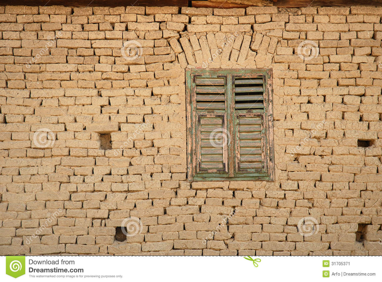 Detail Of A Romanian Earh House Stock Image Image 31705371