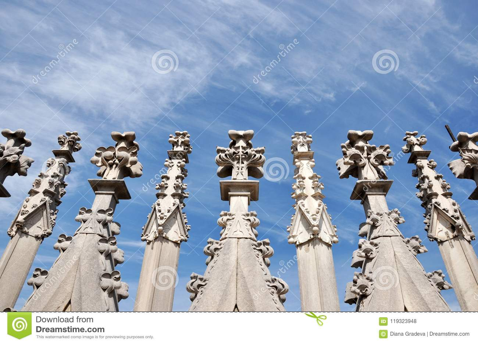 The Roof of Duomo Di MIlano