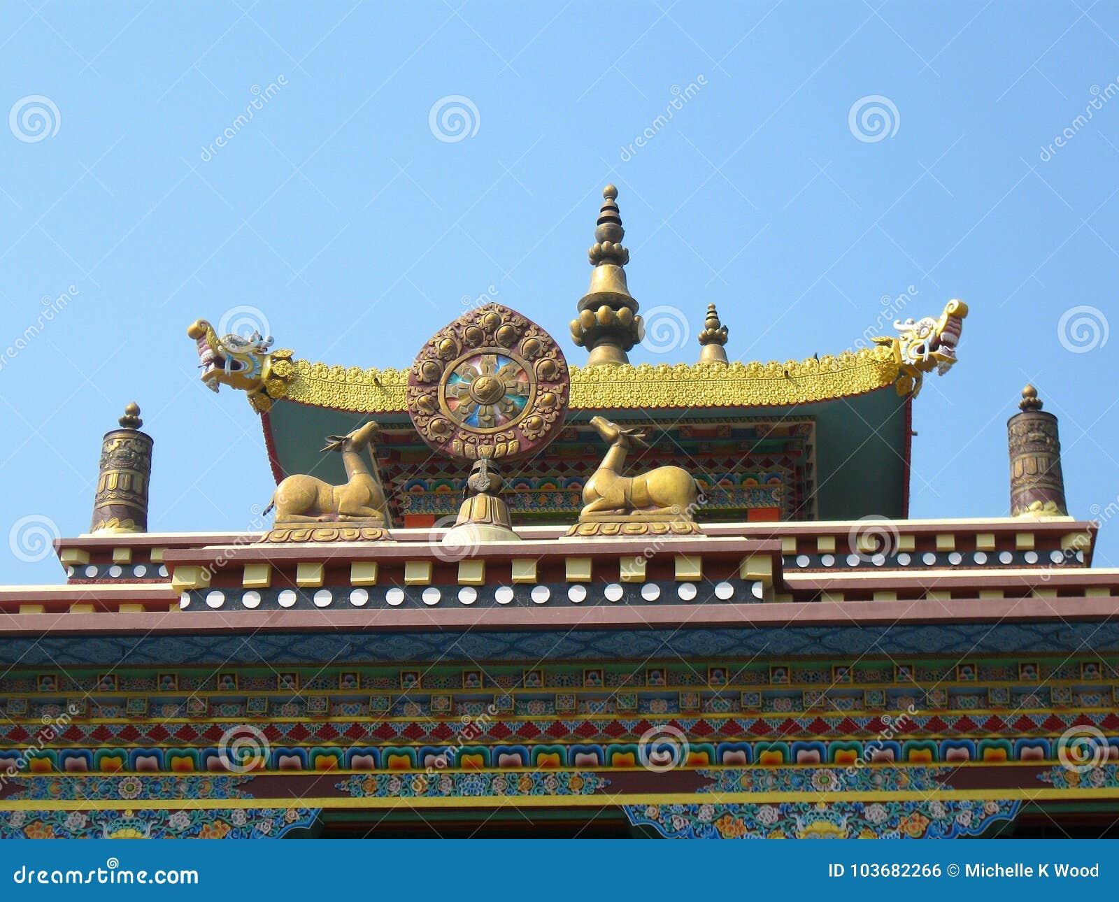 Karma Tharjay Chokhorling Tibetan Monastery Bodh Gaya India