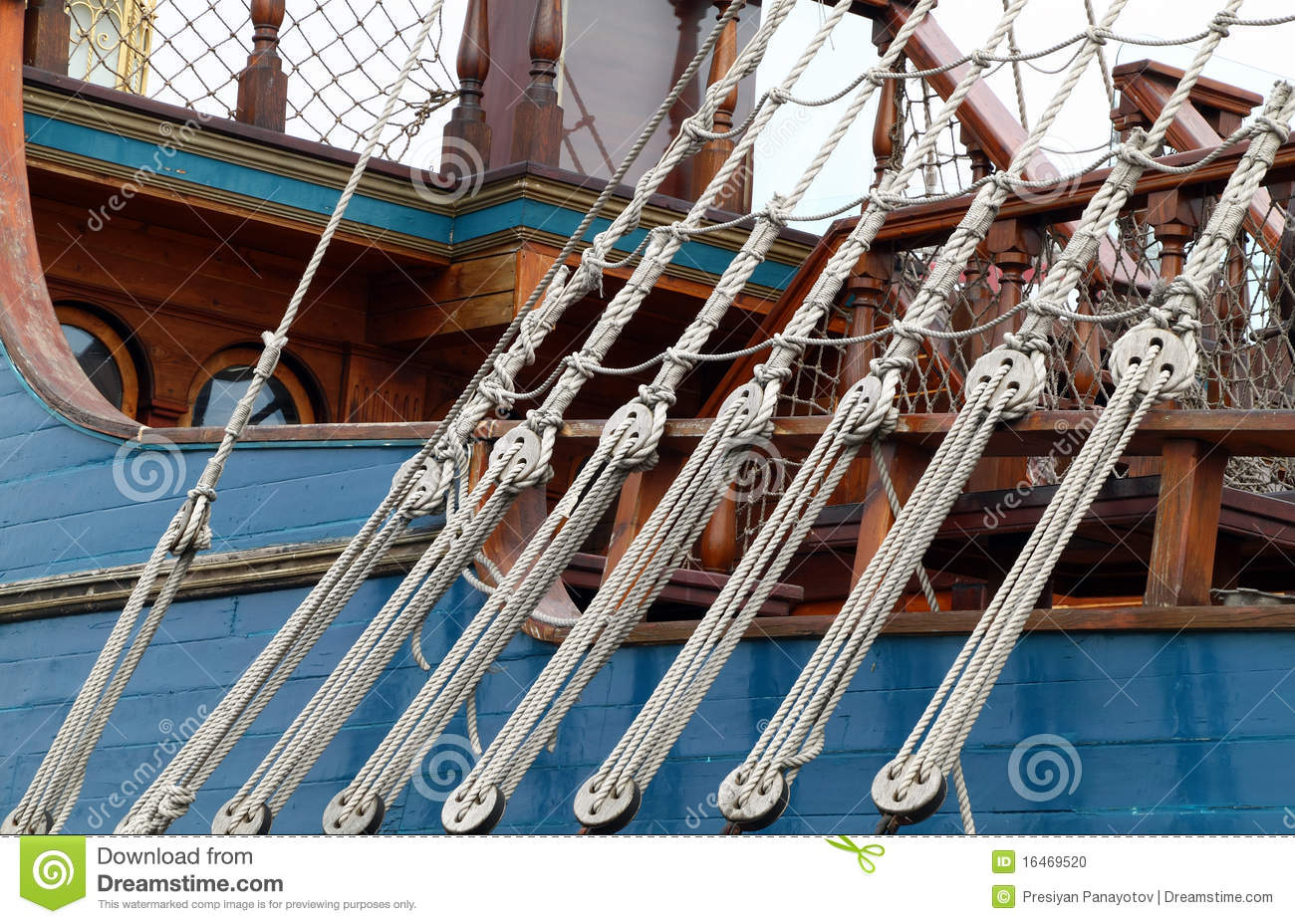 Detail of a rope ladder stock photo. Image of ladder - 16469520 for Rope Ladder Ship  55dqh