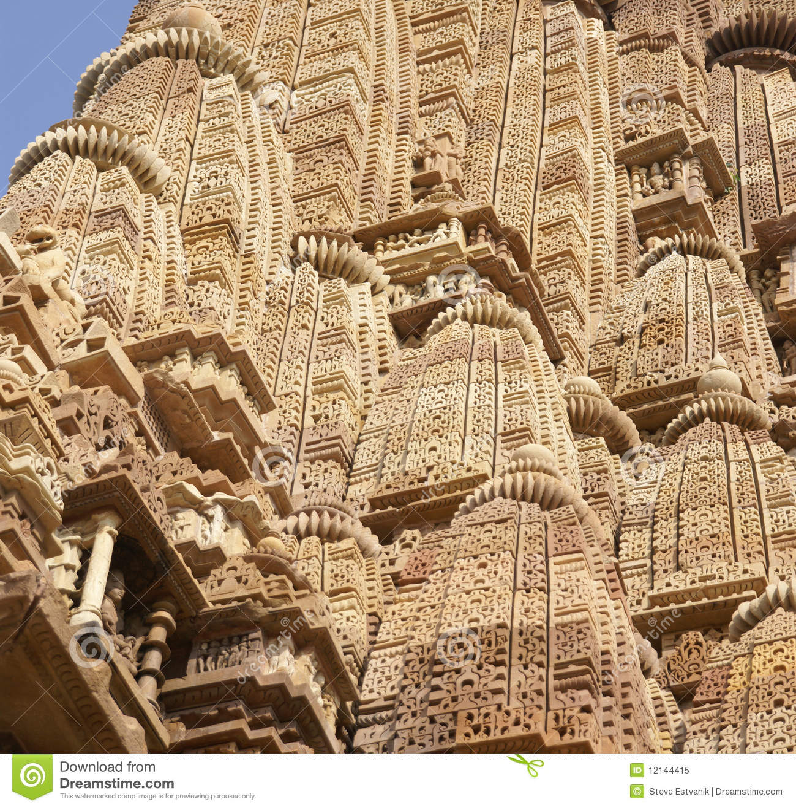 Detail, Shikhara Temple Spires Royalty Free Stock Photo - Image ...