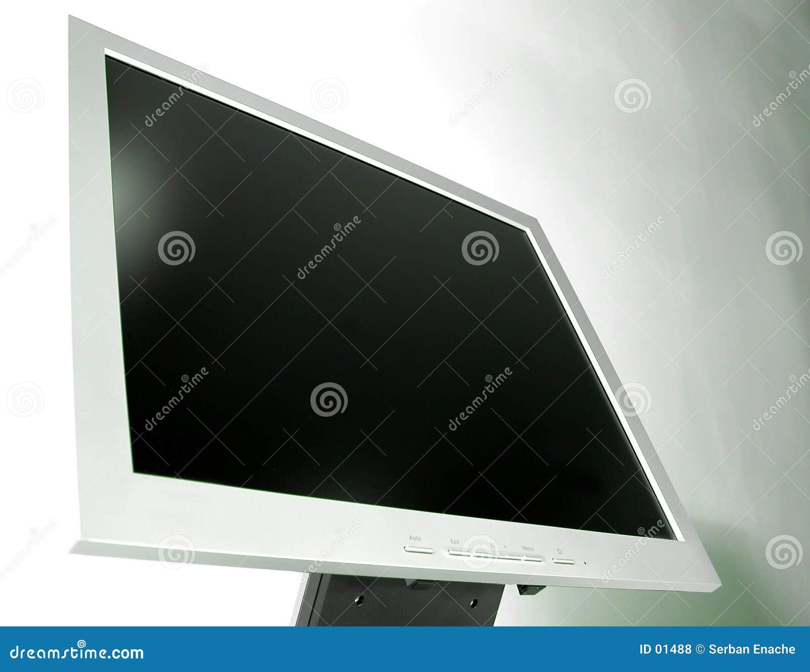 Detail - Slanke LCD monitor