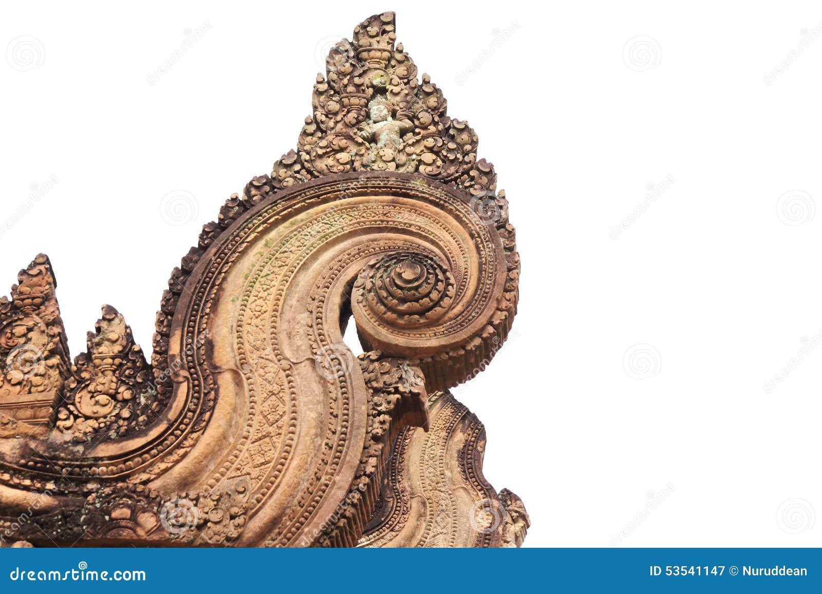 Detail stone carvings angkor wat cambodia stock photos