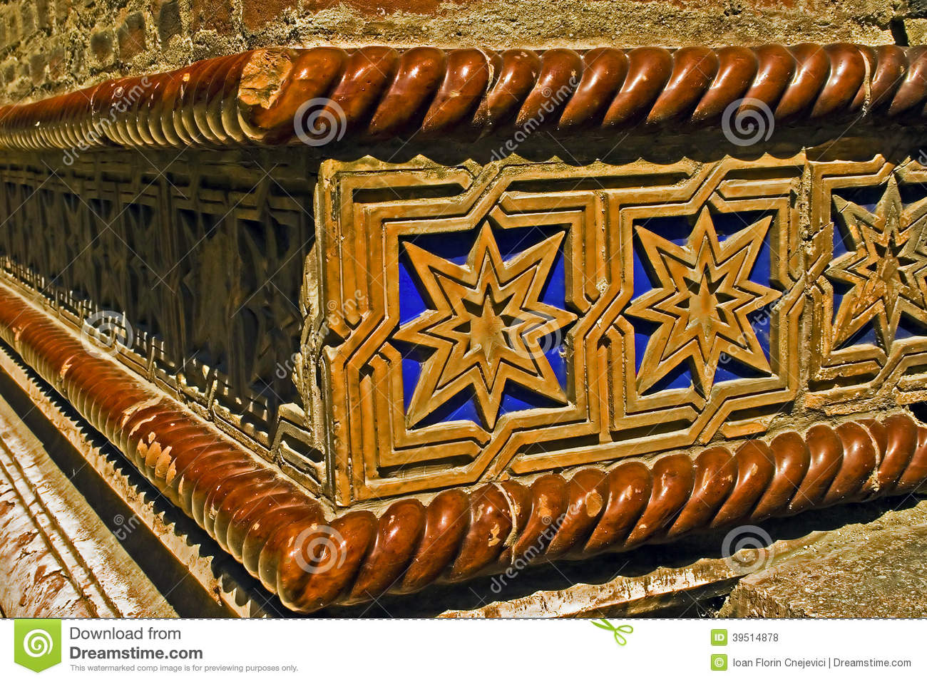 Detail from a synagogue 1