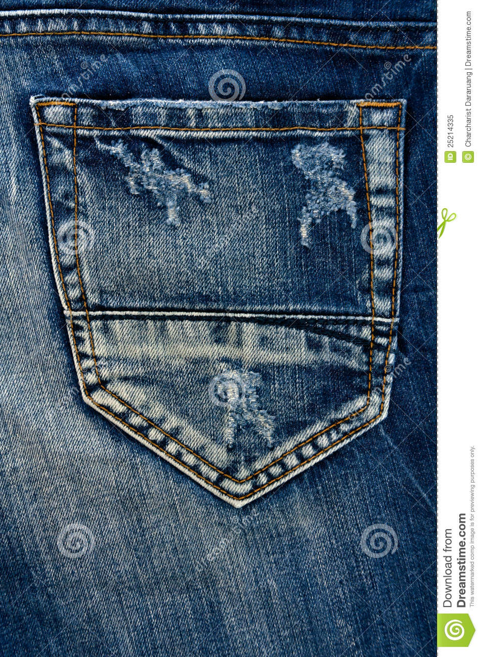 how to fix a jean pocket