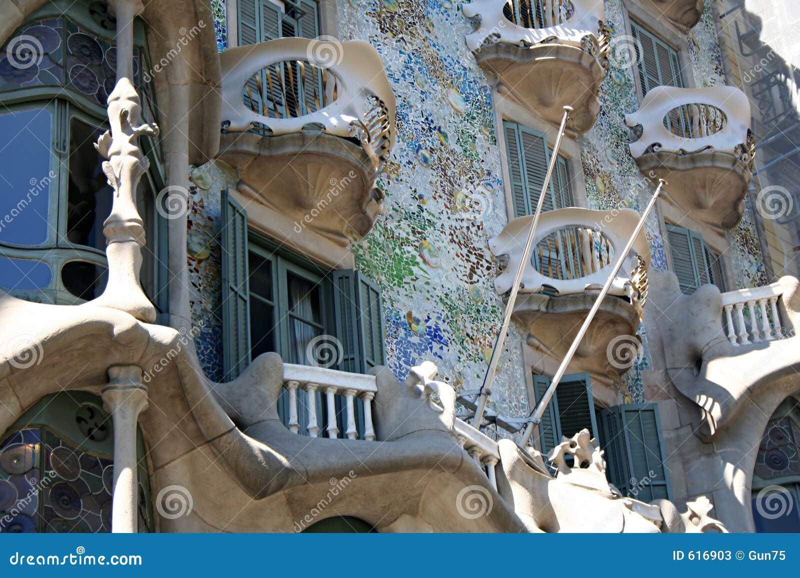 Detail van Casa Batllo