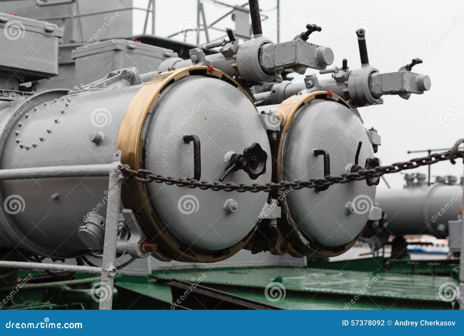 Detail van oorlogsschip