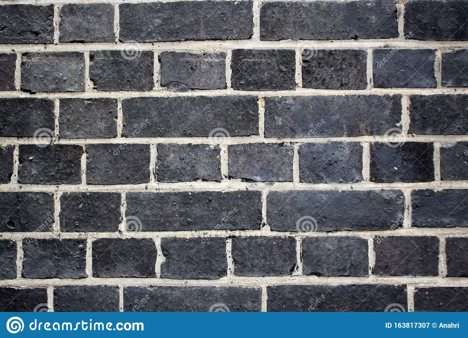 Detail Of Whitewashed Exterior Brick Wall For Texture And Background Macro Detail Industrial Pattern Stock Image Image Of Nittygritty Architecture 163817307