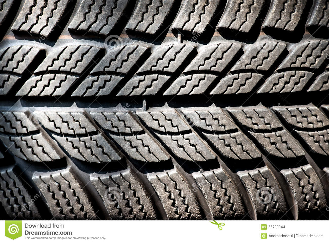 detail of a winter tire tread stock photo image 56783944. Black Bedroom Furniture Sets. Home Design Ideas