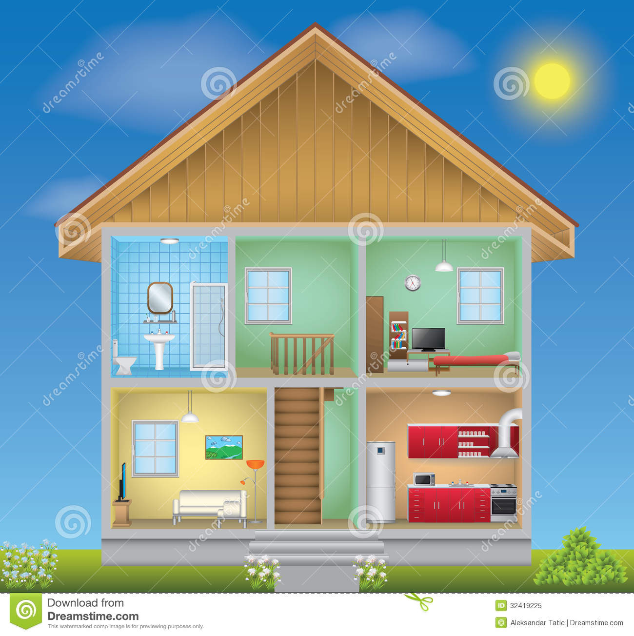 clipart inside house - photo #48