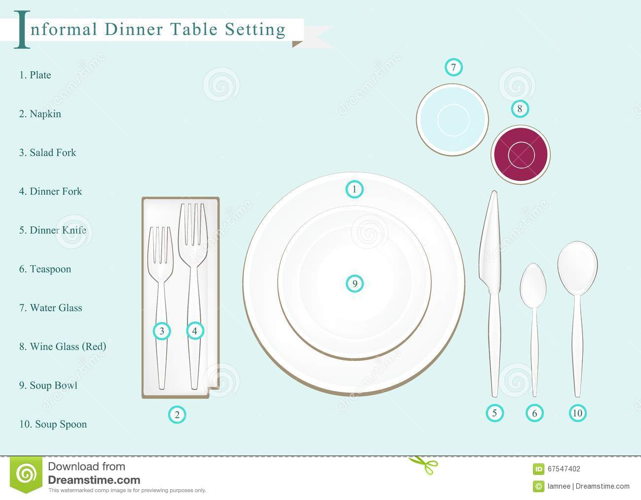 Formal dinner table setting formal dinner table setting for Table place setting