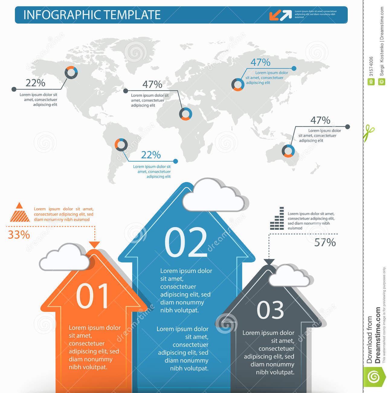 Detailed infographic elements set with world map graphics and ch detailed infographic elements set with world map graphics and ch layout data gumiabroncs