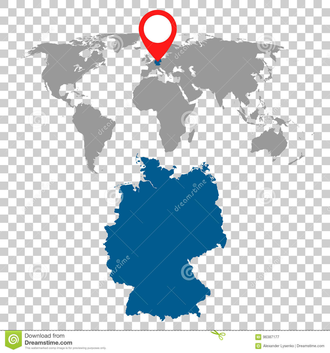 Detailed map of germany and world map navigation set flat vecto detailed map of germany and world map navigation set flat vecto gumiabroncs Choice Image