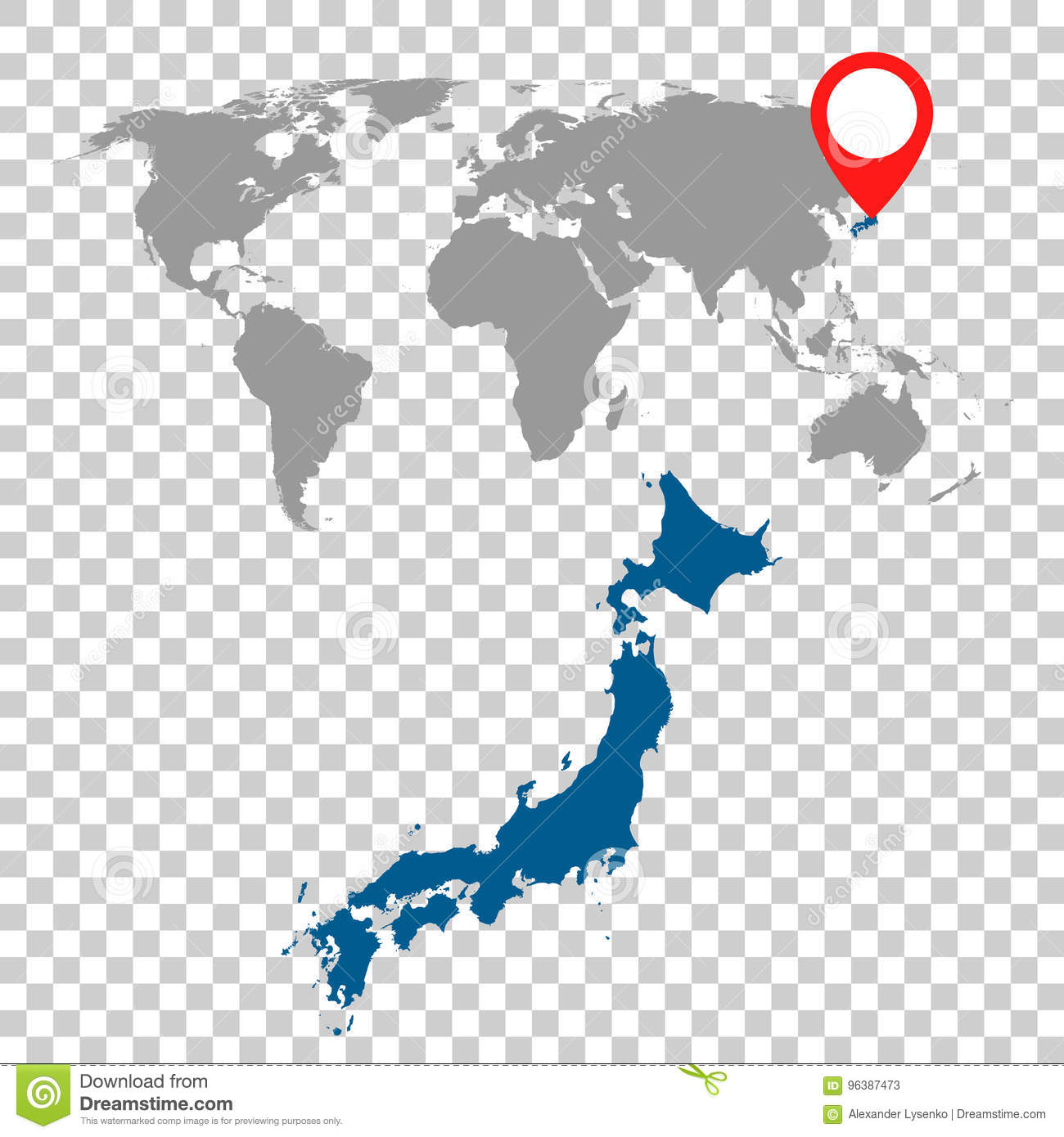 Detailed map of japan and world map navigation set flat vector detailed map of japan and world map navigation set flat vector gumiabroncs Choice Image