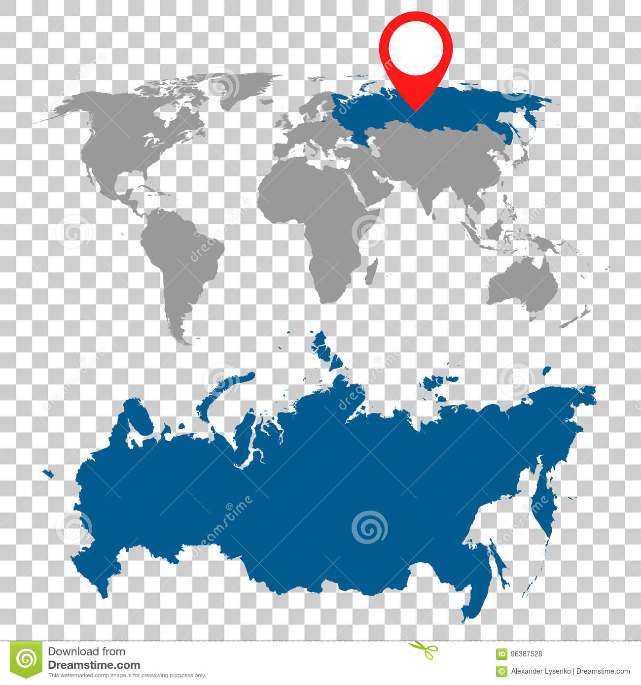 Detailed map of russia and world map navigation set flat vector detailed map of russia and world map navigation set flat vector gumiabroncs Choice Image