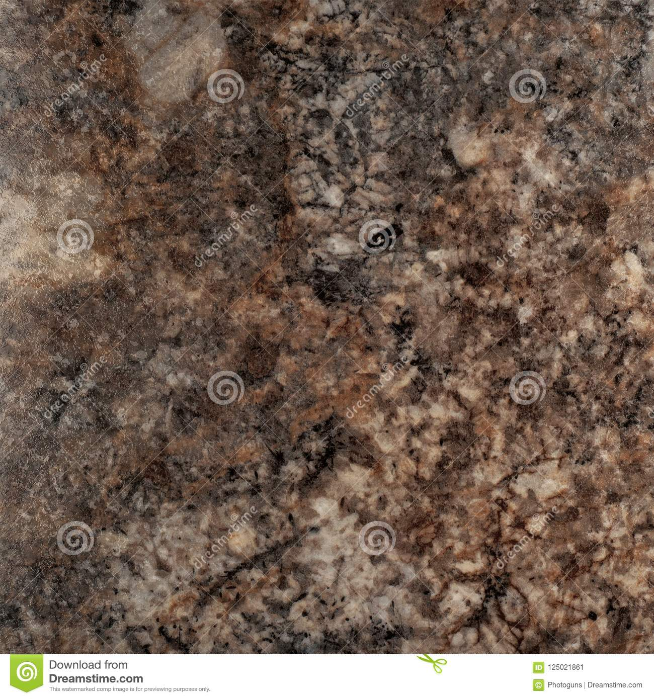 Brown Coral Texture. Stone Granite Texture Background. Stock Image ...