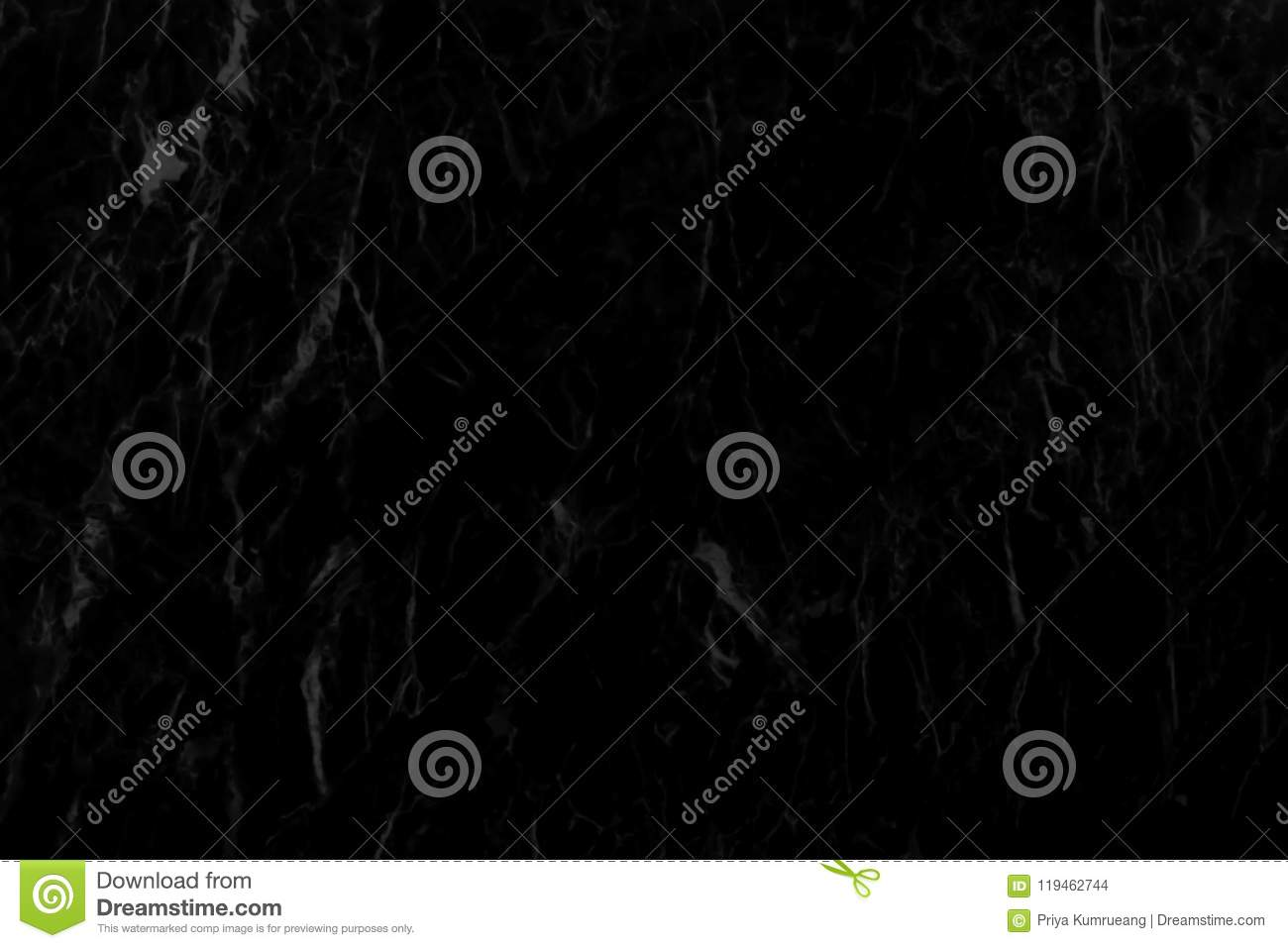 Detailed structure of black marble in natural pattern for ba