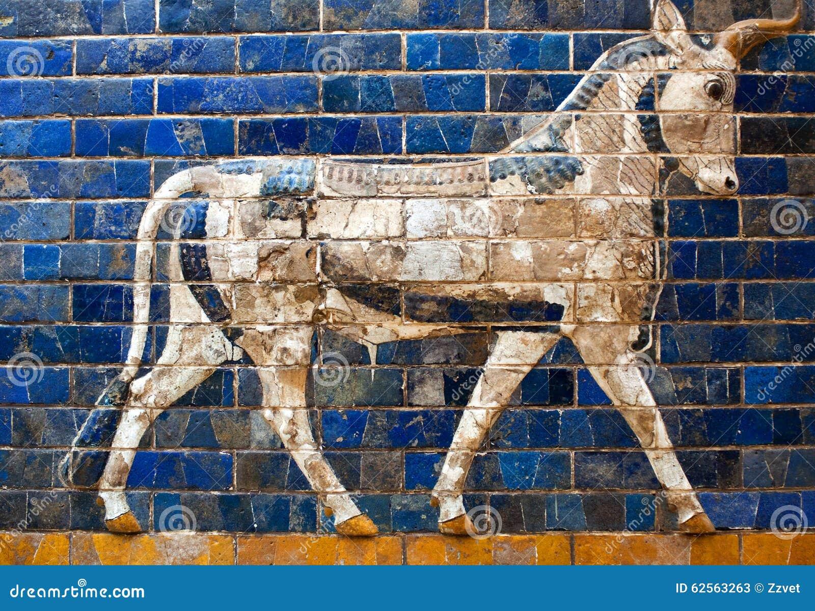 Details of the Babylonian Ischtar Tor