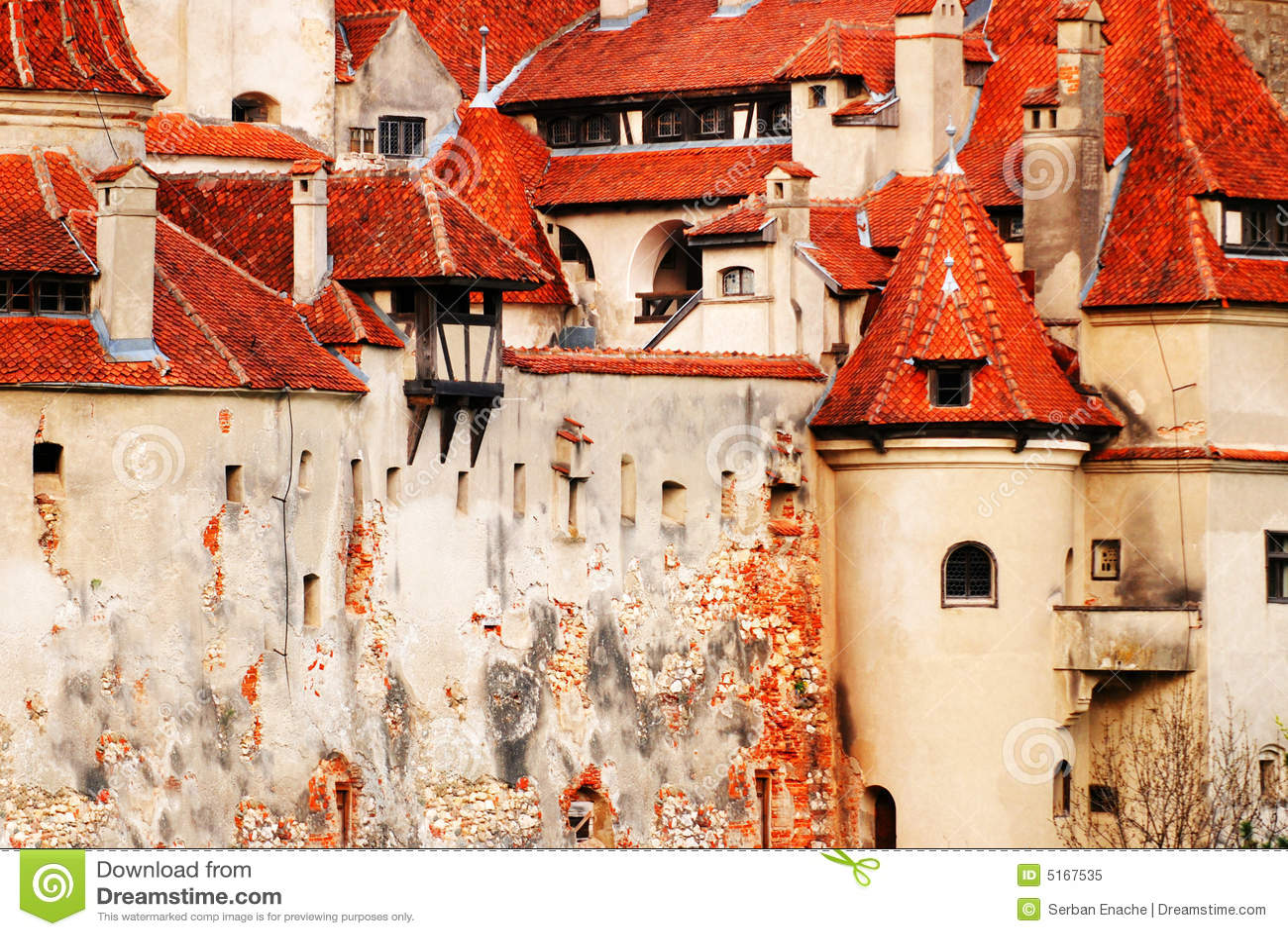 Details of the Bran Castle