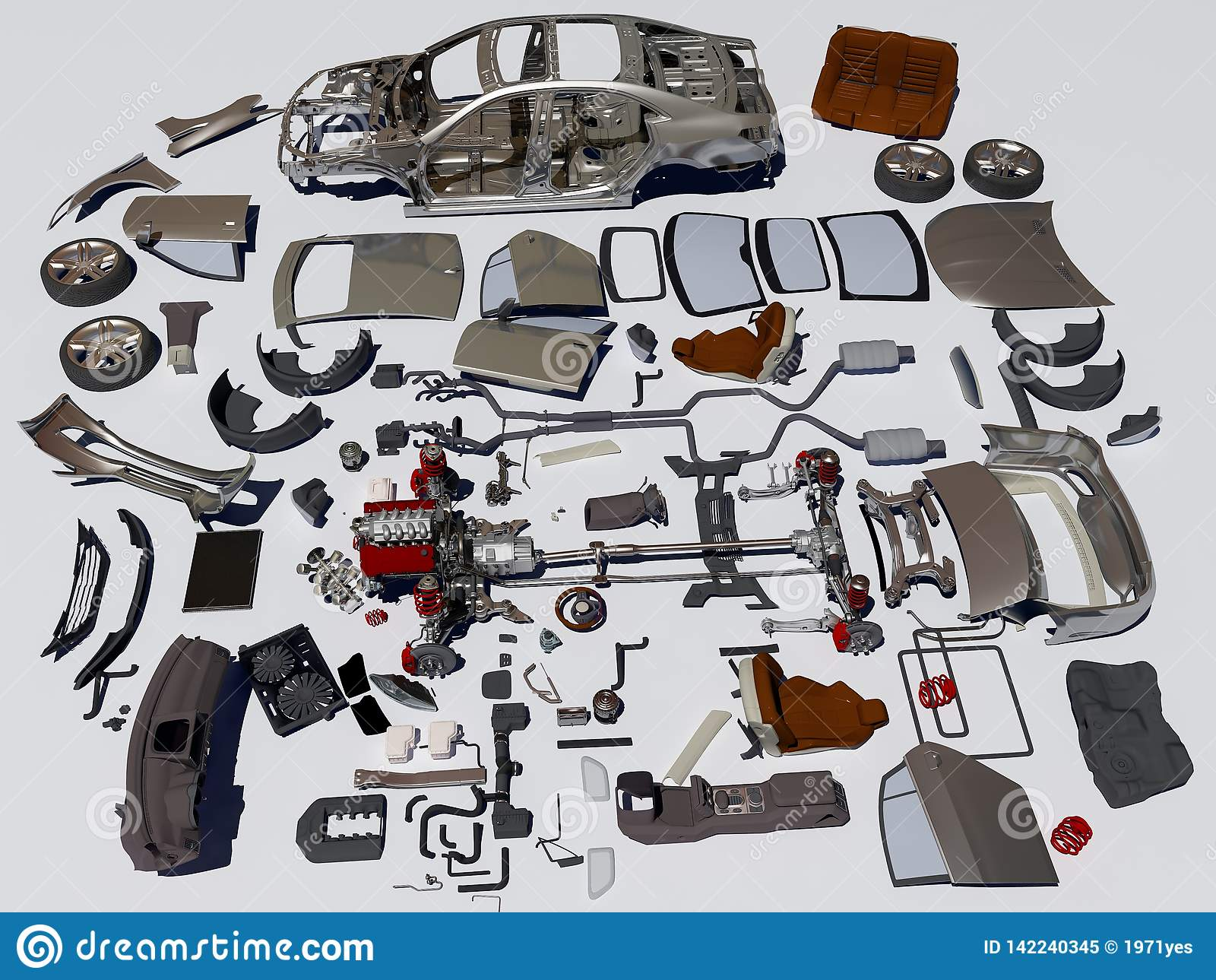 Details des Autos