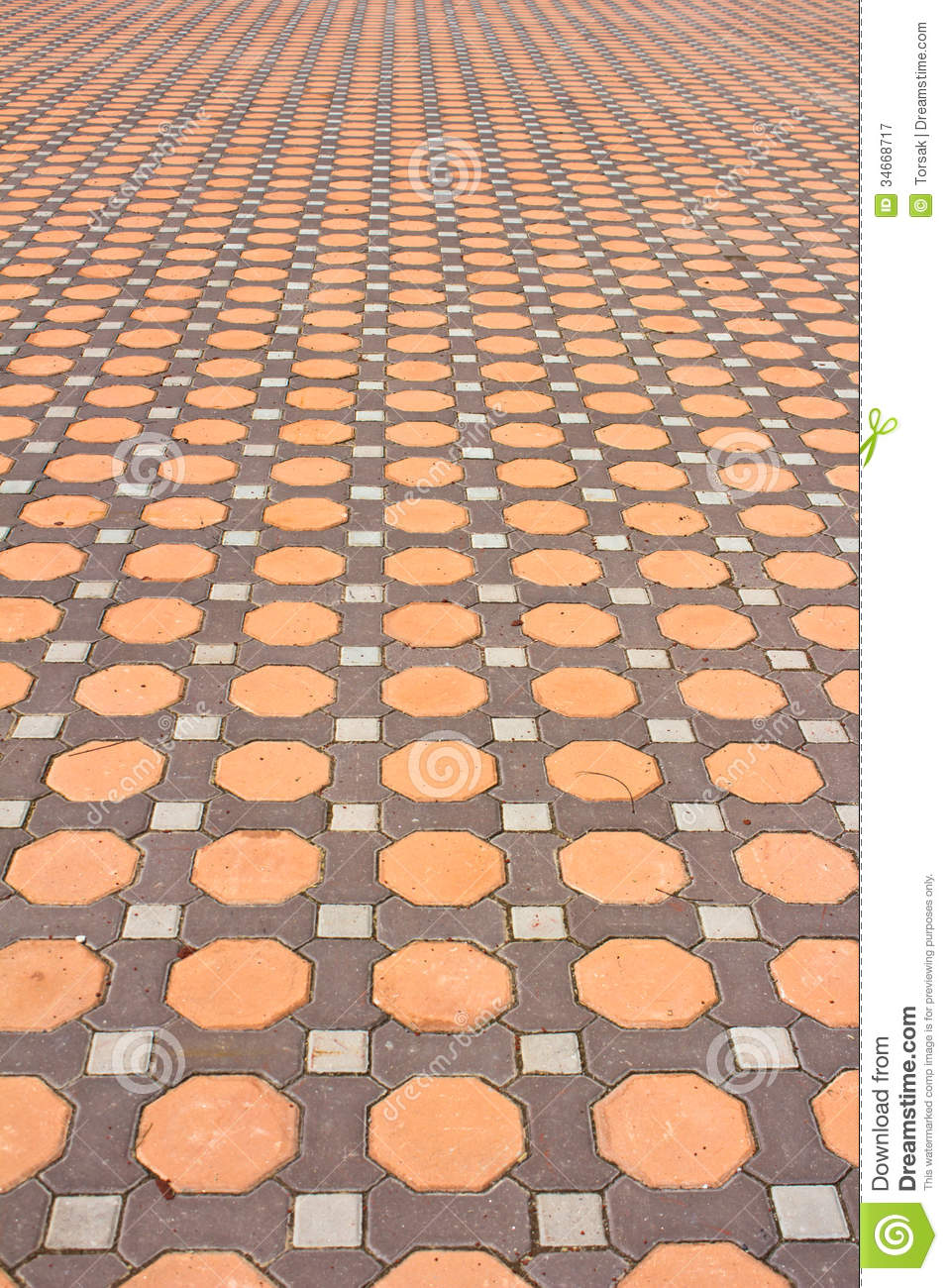 Details Of Design Stone Floor Tiles Stock Image Image Of