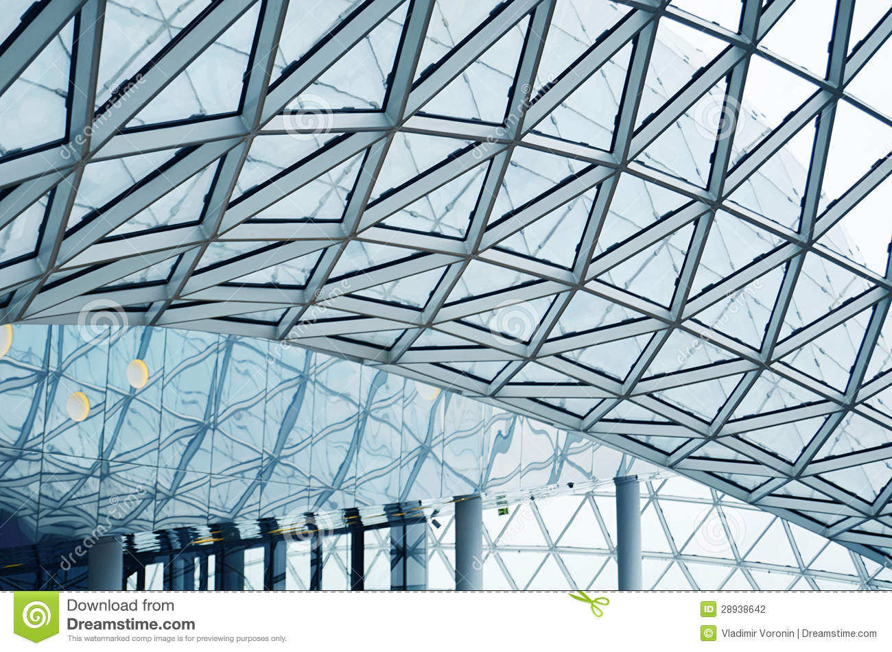 Download Details Of An Interior Of Modern Office Building Stock Photo - Image of modern, entrance: 28938642