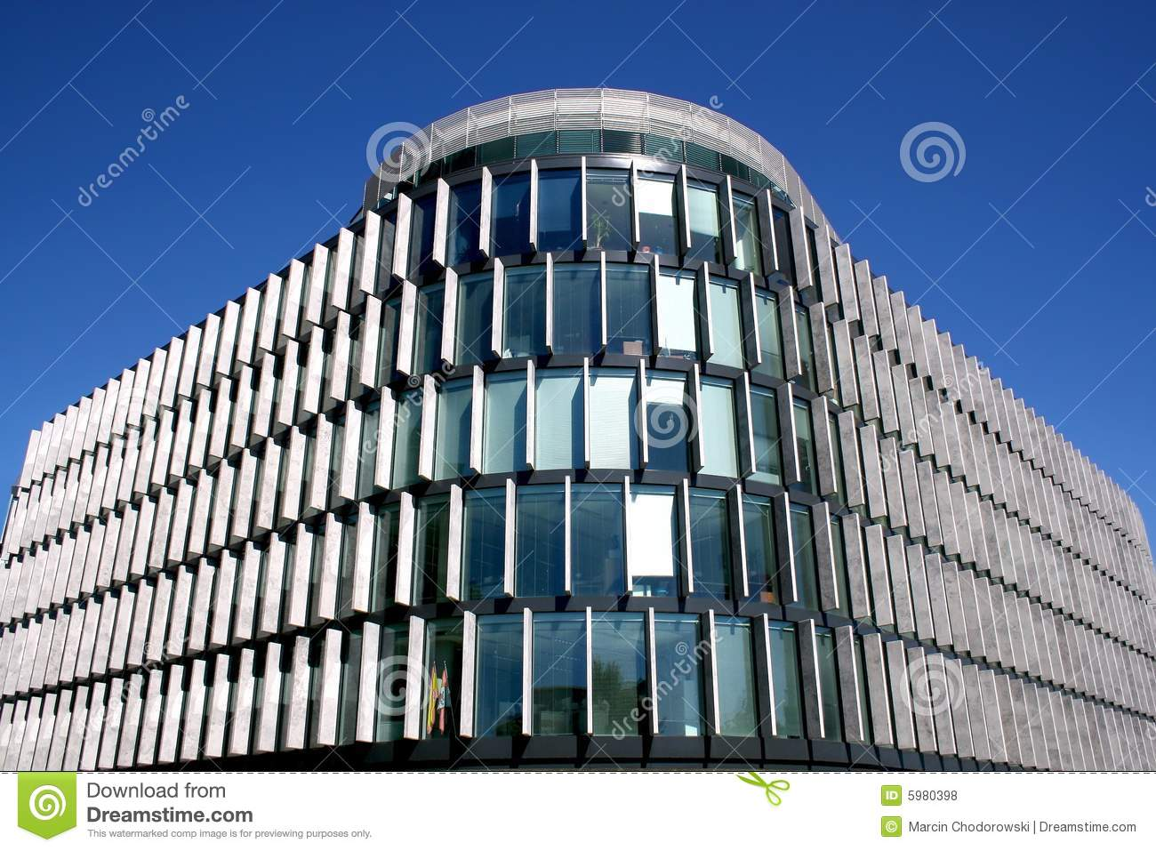 Details Of Modern Building Royalty Free Stock Photos