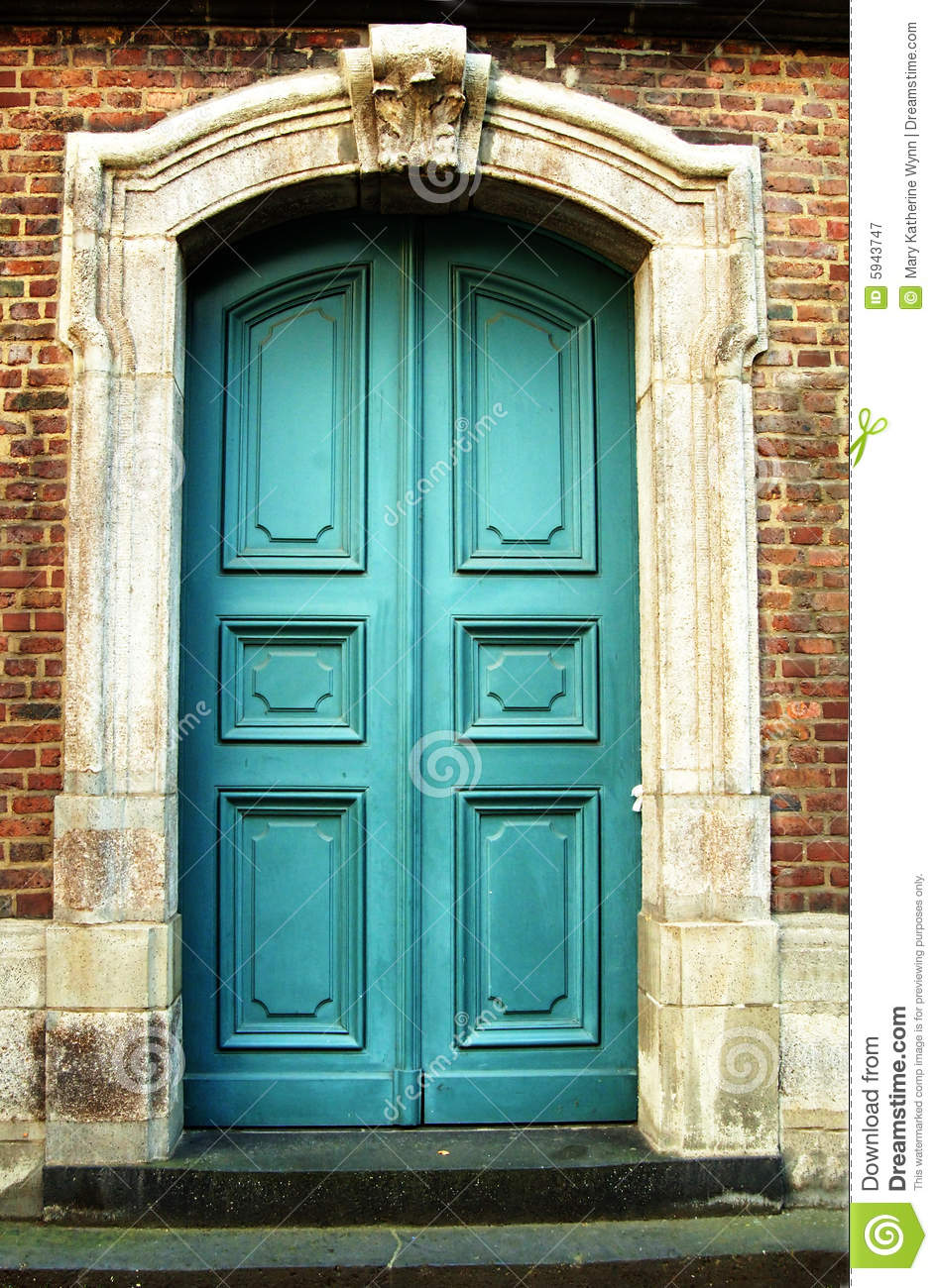 Details Of Old Doorway Stock Image  Image Of Colourful