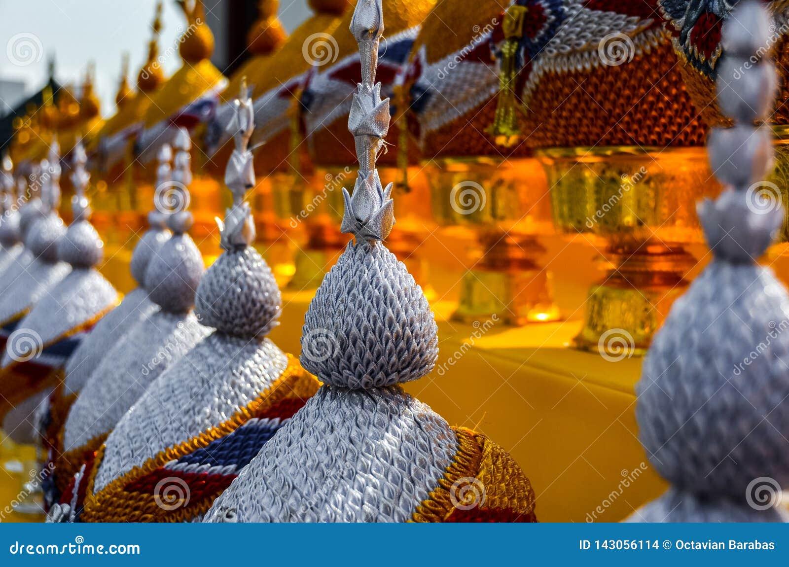Details in tempel in Bangkok/Thailand