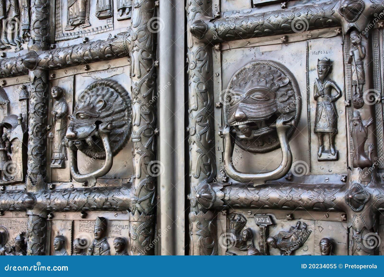 Details van de poorten van maagdenburg royalty vrije stock foto afbeelding 20234055 for Decor ingang