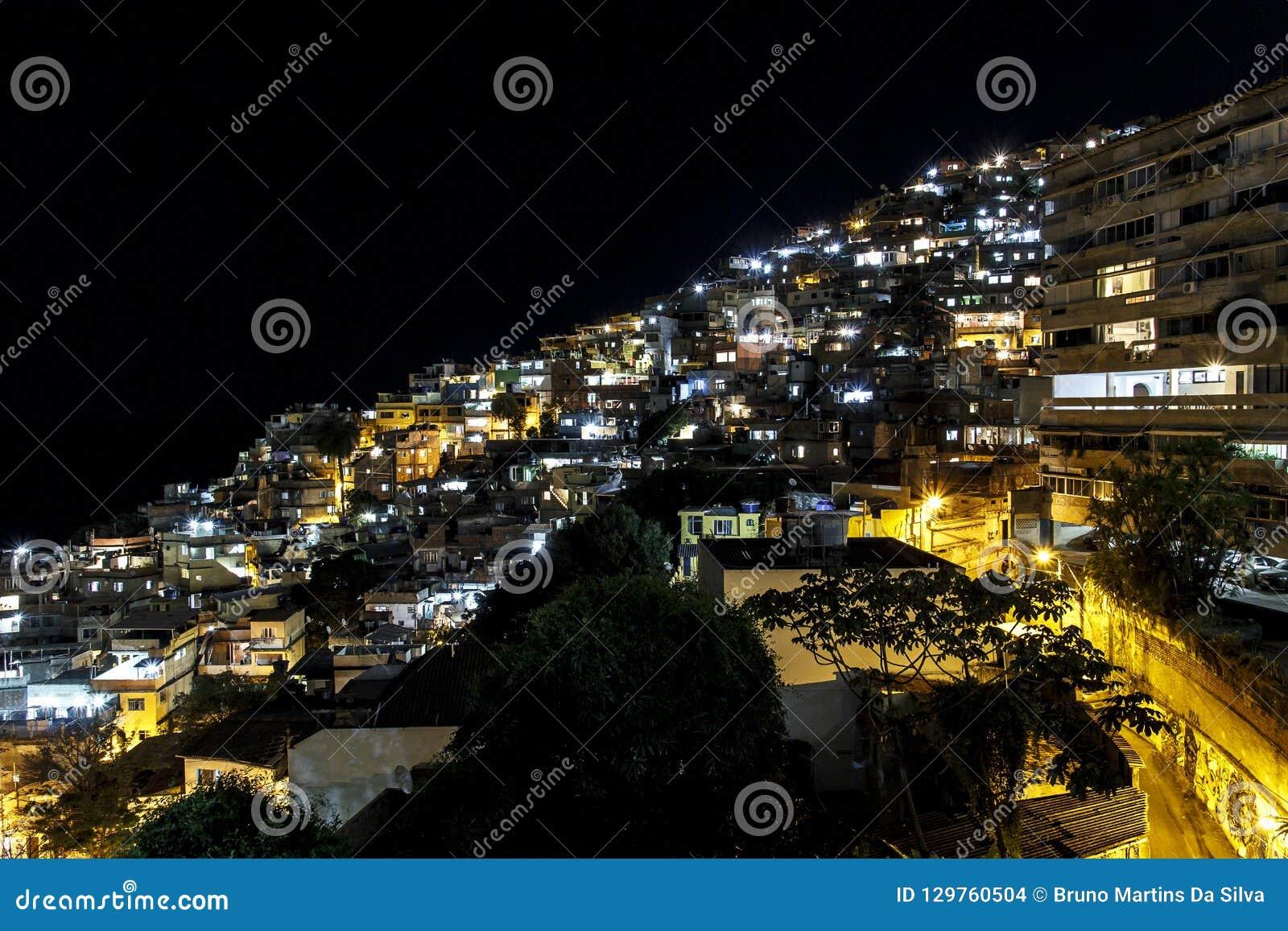 Details van Vidigal-heuvel in Rio de Janeiro