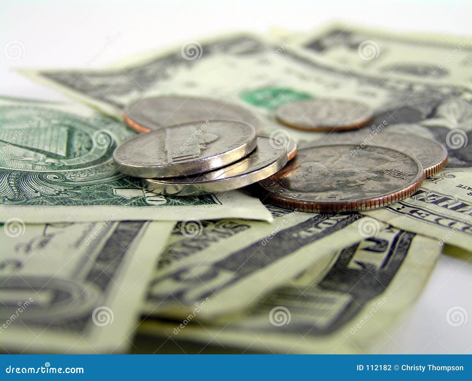 Detalhe 2 do dinheiro