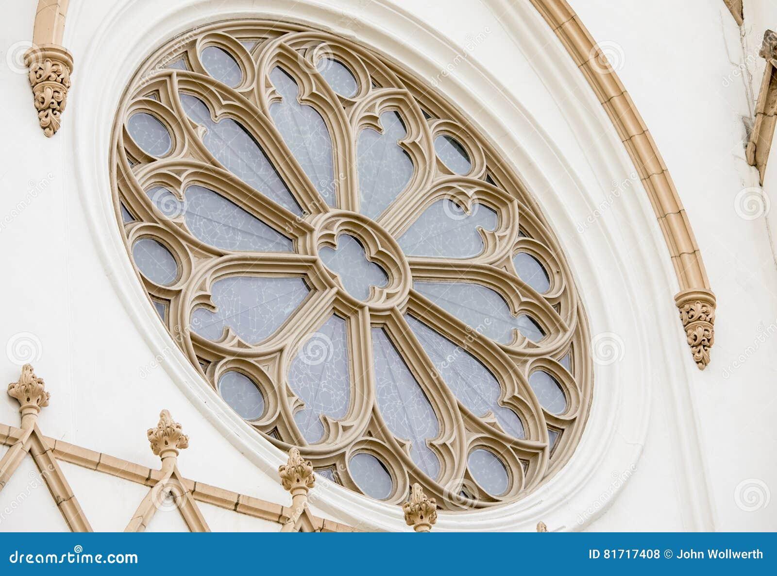 Detalhe arquitectónico de igreja