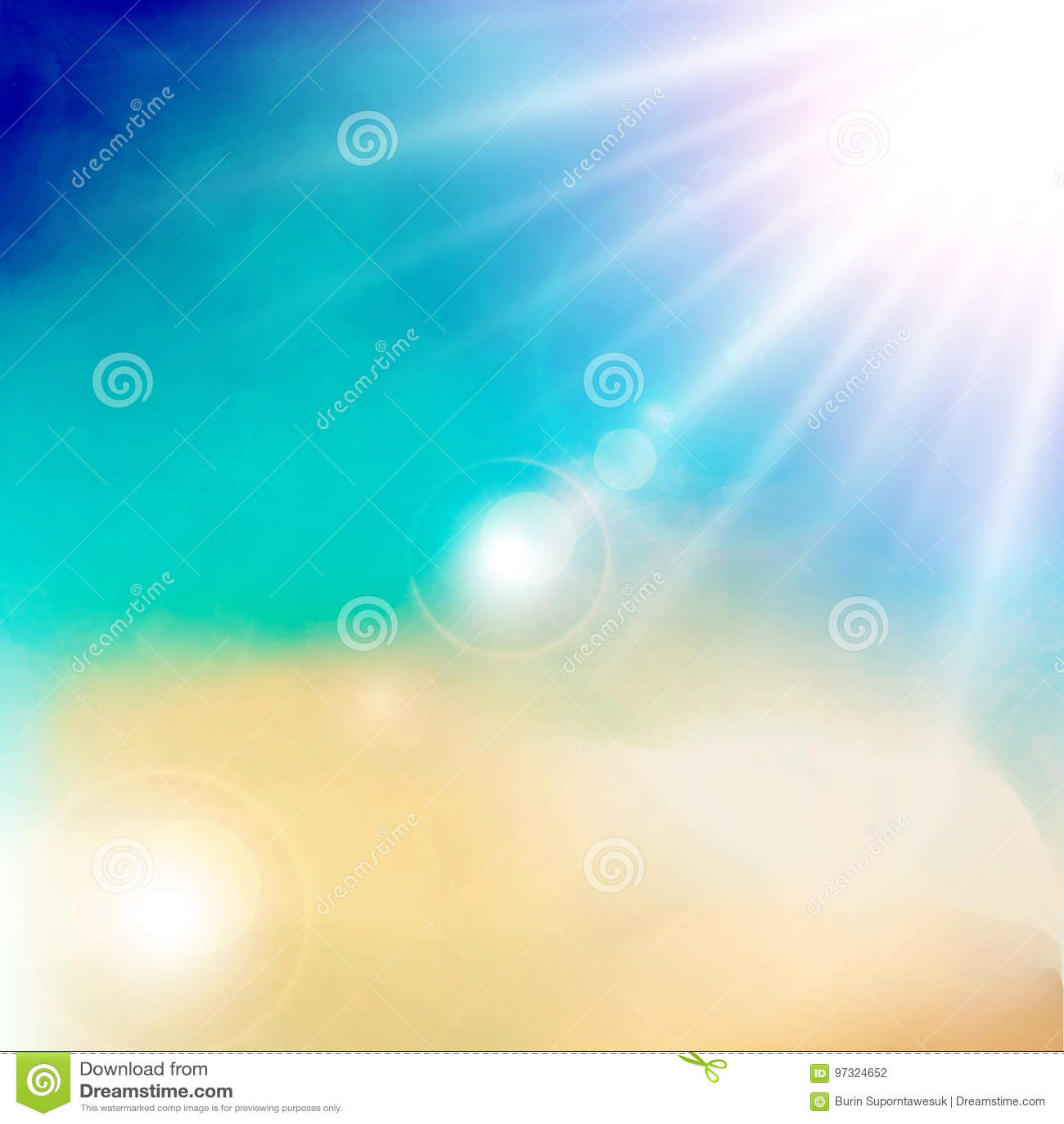 Detalhe branco da nuvem no céu azul com mal da luz do dia da luz do sol