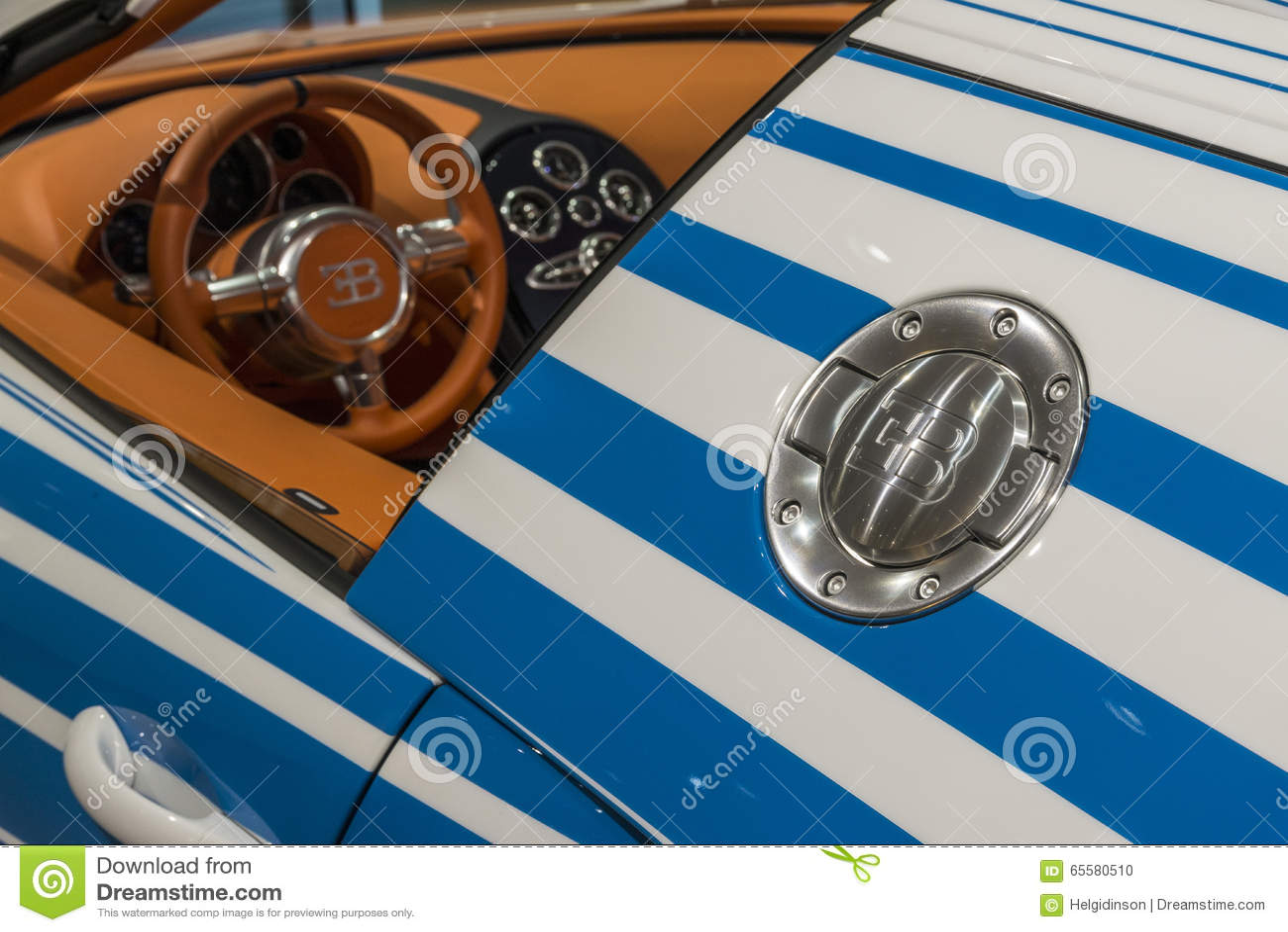 Detalhe de Bugatti