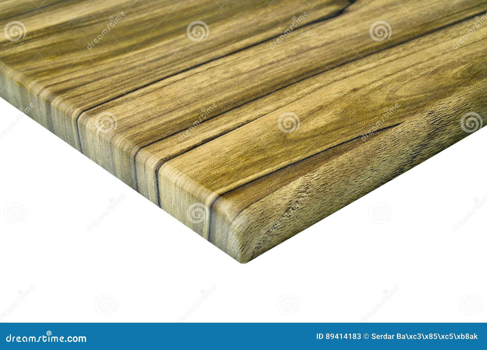 Detalhe de madeira do canto da porta de armário