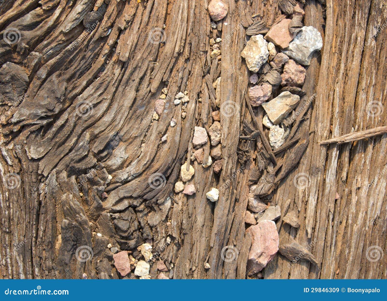 Detalhe de madeira velho