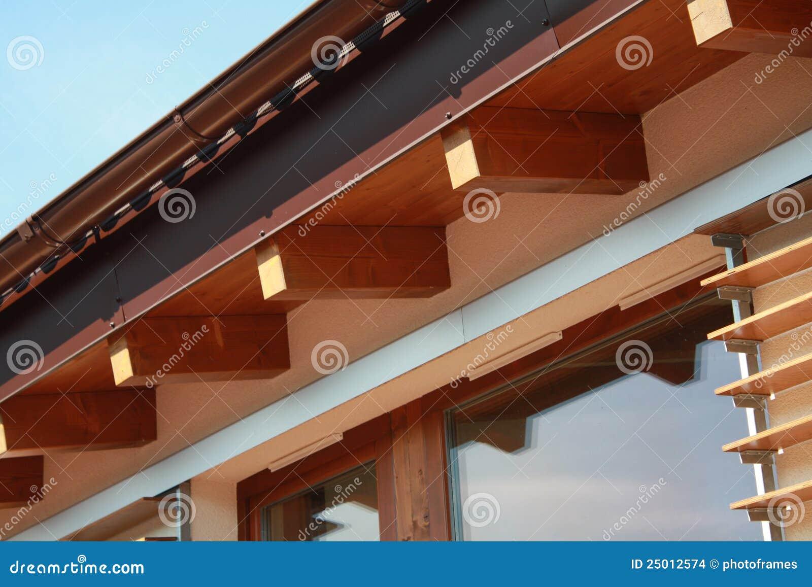 Detalhe de ventilação na casa passiva