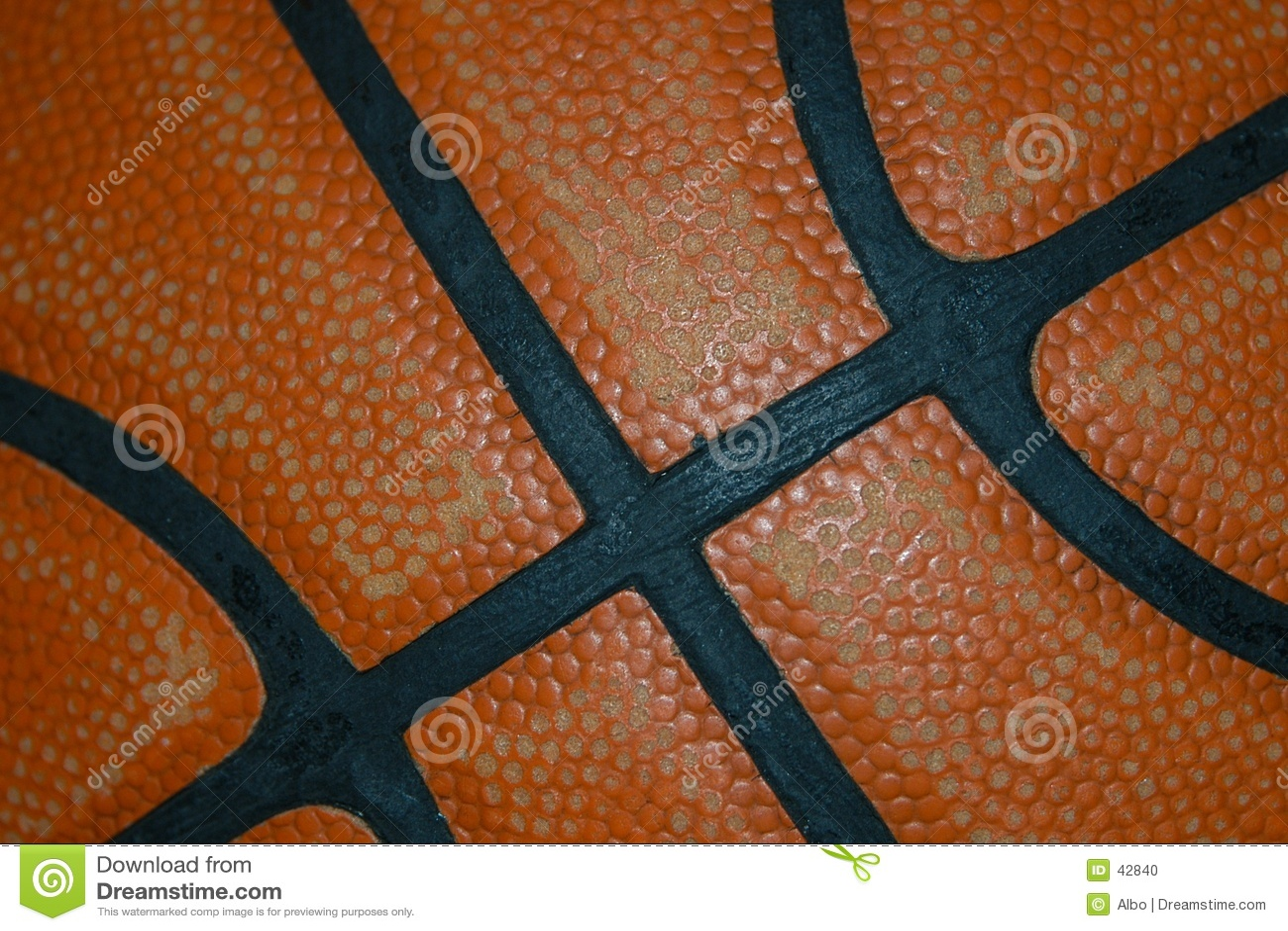 Detalhe do basquetebol