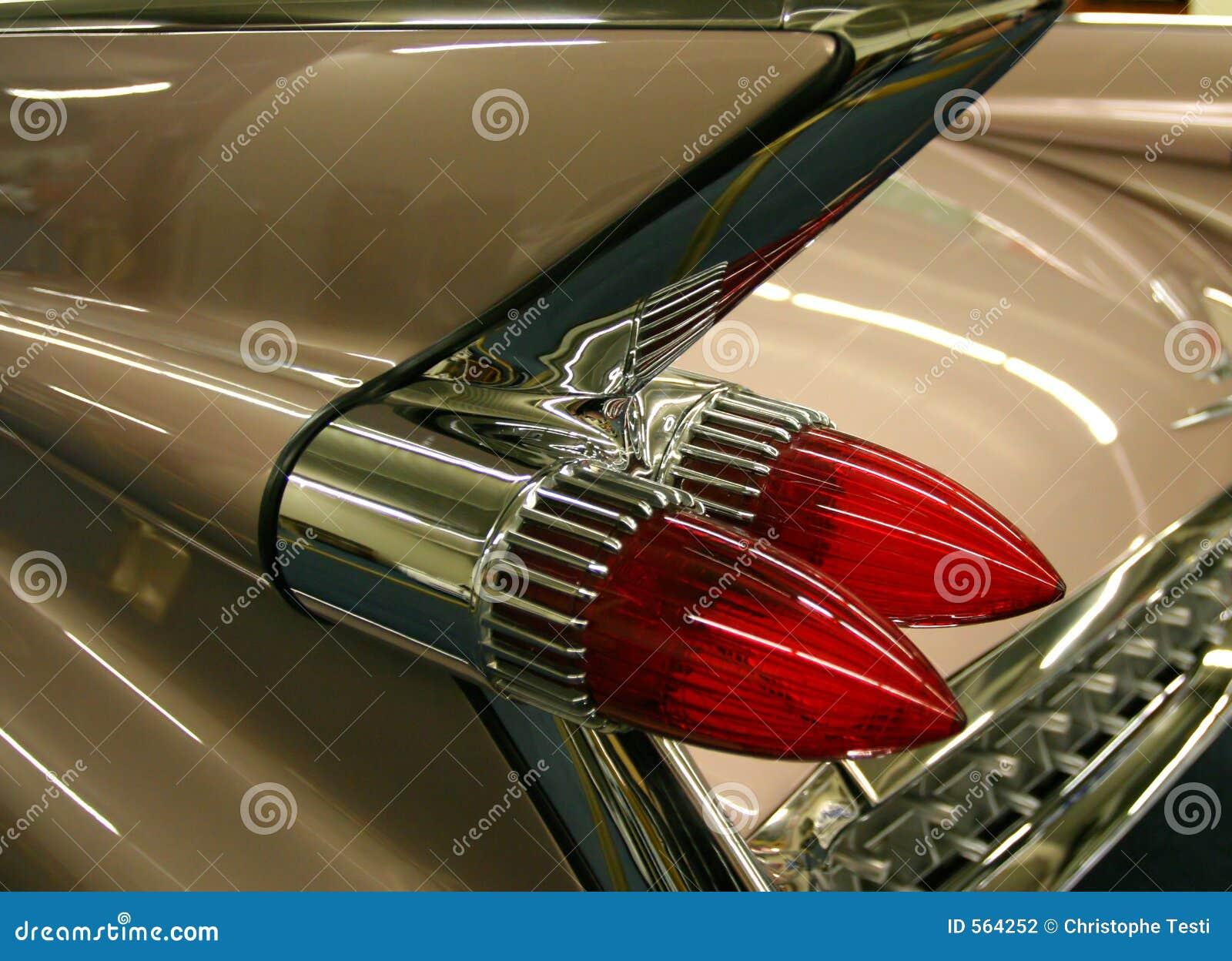 Detalhe do carro antigo