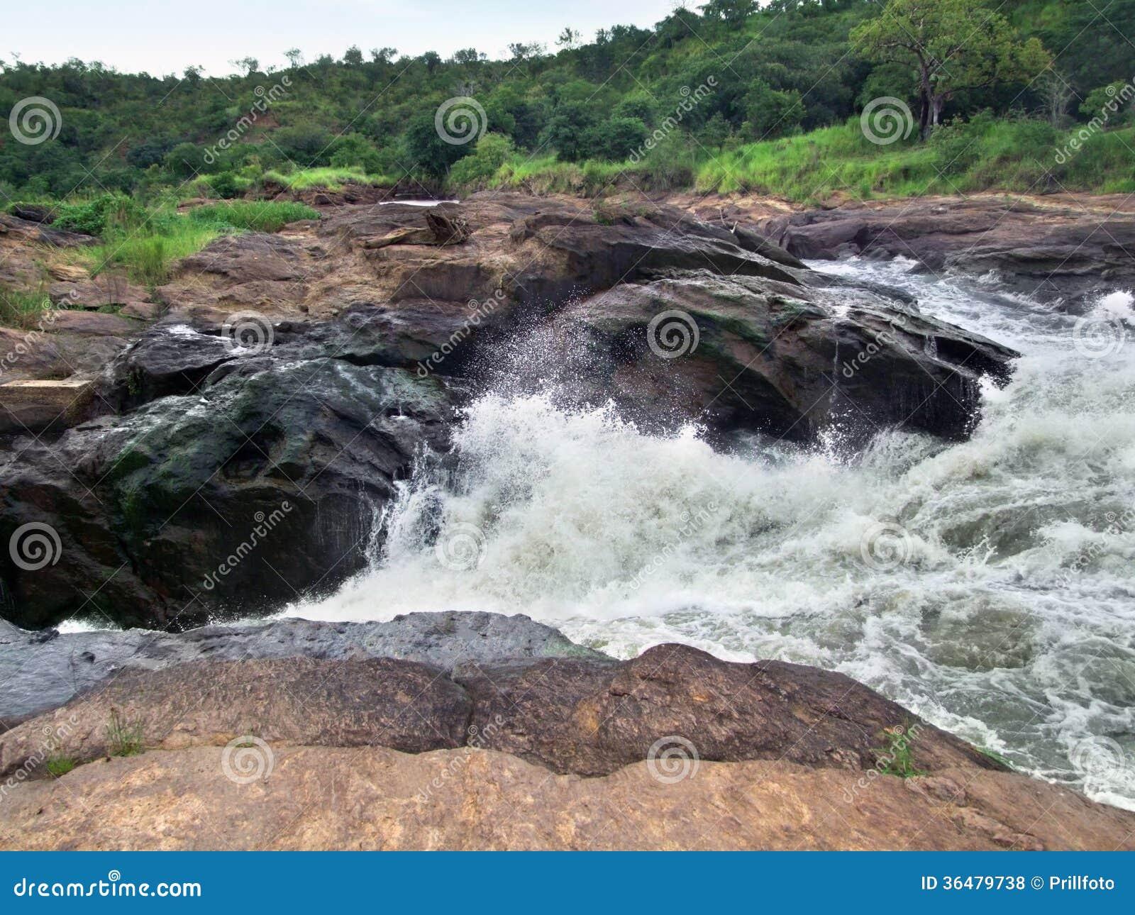 Detalhe do Murchison Falls